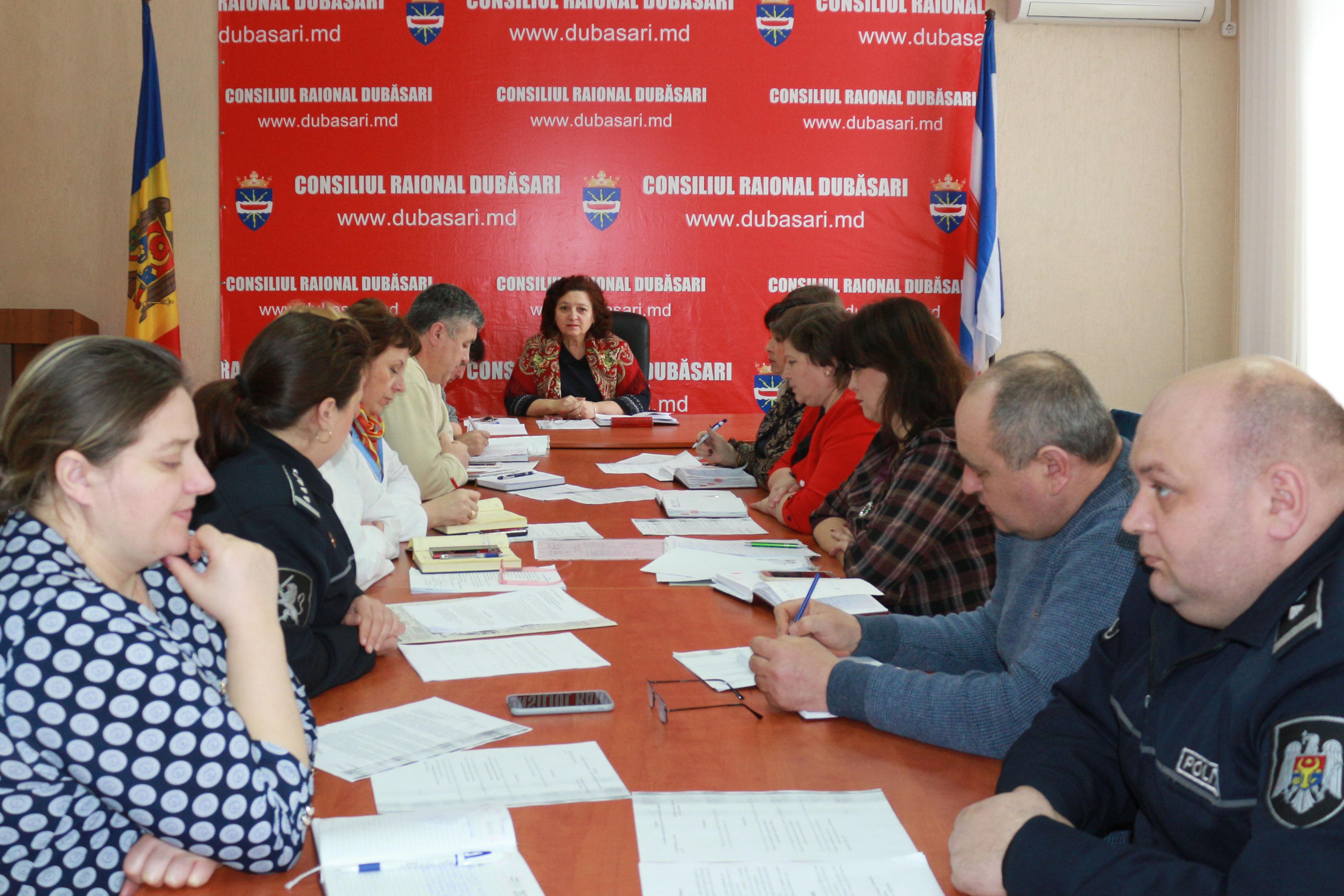 Ședința Consiliului raional pentru protecția drepturilor copilului